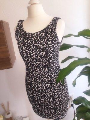 Schwarz weißes Kleid Größe S