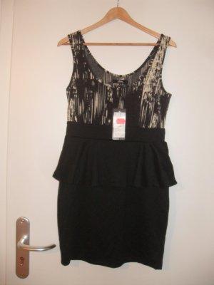 schwarz-weißes Kleid (NEU)