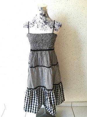Schwarz-weißes Kleid; QS by s.Oliver; Größe 36