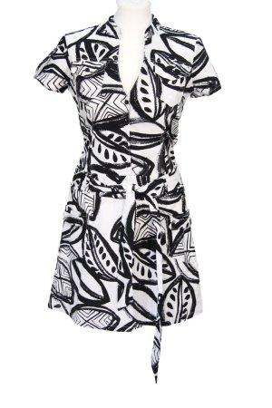 Schwarz-weißes Kleid von John Richmond
