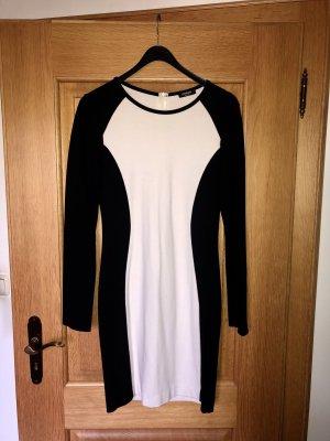 Conleys Midi Dress white-black