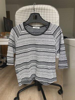 schwarz - weißes Muster Shirt