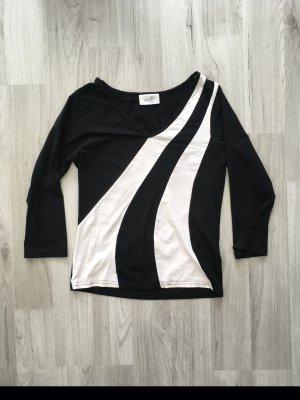 schwarz weißes Oberteil Gr.38