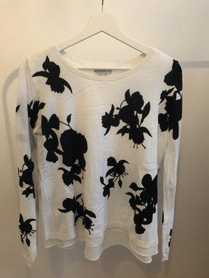H&M Camicia maglia nero-bianco