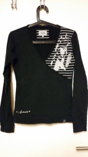 Schwarz/weisses Sweatshirt von Alprausch Gr. L (eher M)