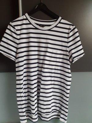 Banana Republic T-Shirt white-black cotton