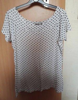Schwarz weißes T-Shirt