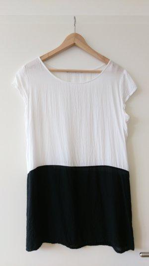 Schwarz weißes T- Shirt von LTP Gr. S