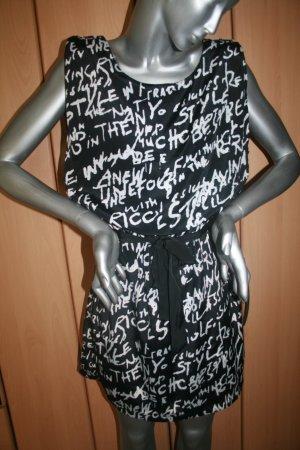 schwarz-weißes Vero Moda Sommerkleid gr. 38