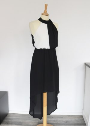 Only High Low Dress black-white