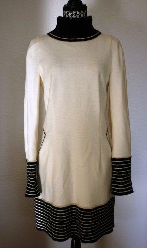 schwarz/weißes Wollkleid von Strenesse