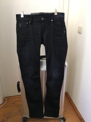 Schwarzblaue G-Star RAW Jeans 5204
