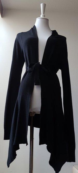 Veste en laine noir viscose