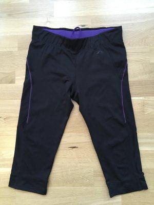 Schwarze 3/4 Jogging-Tights Gr. M