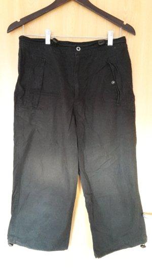 Schwarze 3-viertel Hose