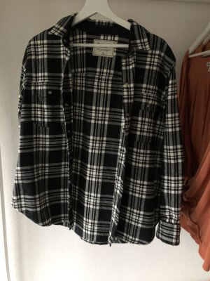 Schwarze abercrombie Bluse