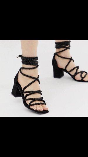 Missguided Platform Sandals black