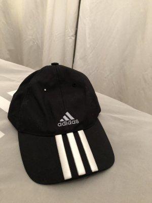 Adidas Berretto da baseball nero-bianco