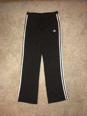 Schwarze Adidas Sporthose