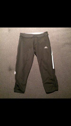 Schwarze Adidas Sporthose Größe 34 dreiviertellang