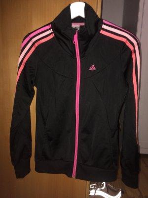 Schwarze Adidas sportjacke