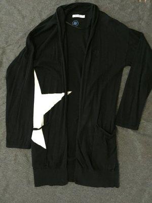 Schwarze Adidas Strickjacke