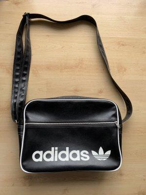 Schwarze Adidas (Vintage) Umhängetasche