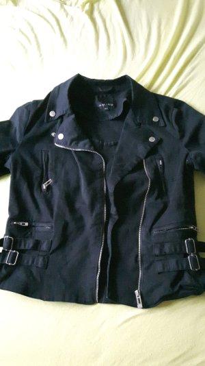 schwarze Amisu Jacke 40