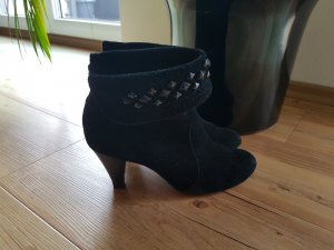 Tamaris Low boot noir daim