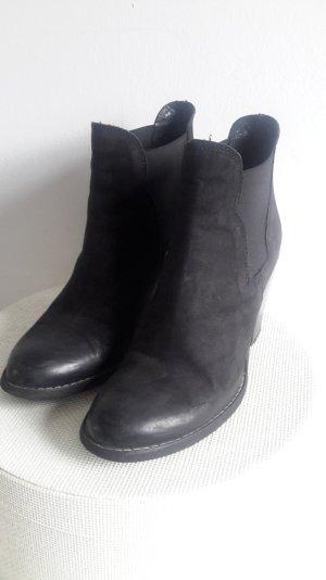 Schwarze Ankle Boots Gr.36-37