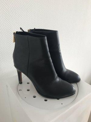 Schwarze Ankle Boots / Stiefeletten