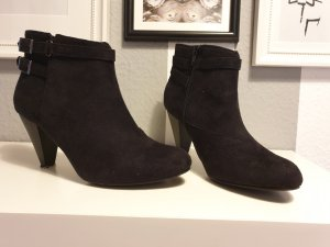 Anna Field Ankle Boots black-silver-colored