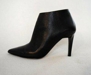 Schwarze Ankle Boots von JIMMY CHOO aus Leder, nur 1x getragen