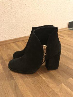 Schwarze Ankle Boots von Zara