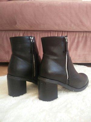 Schwarze ankleboots von justfab