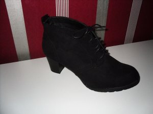 Bottines à lacets noir