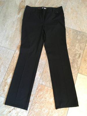 Schwarze Anzug Business Hose von S. Oliver Größe 34/36