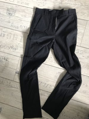 Schwarze Anzughose Stoffhose