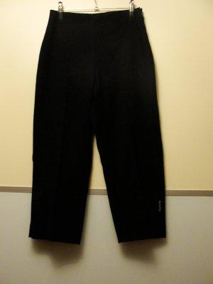 Pantalone jersey nero Tessuto misto