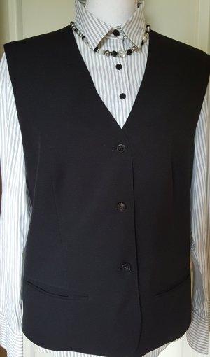 Schwarze Anzugweste