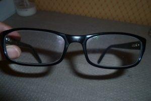 schwarze Armani Brille