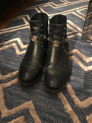 Schwarze Armani Schuhe