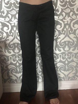 Armani Jeans Pantalón de campana negro