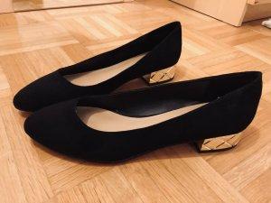 Aldo Zapatos Informales color oro-negro