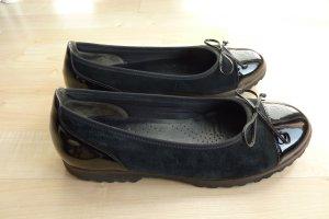Gabor Patent Leather Ballerinas black