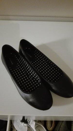 Schwarze Ballerinas Gr. 40