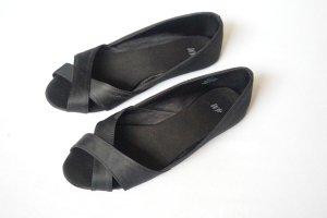 schwarze Ballerinas H&M