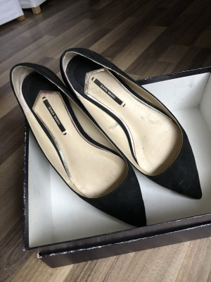 Zara Ballerinas black