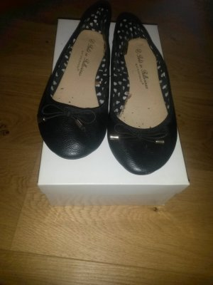 Schwarze Ballerinas Schuhe