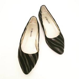 schwarze ballerinas / vintage / classy / basics